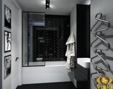 3D визуализация квартиры 90 кв.м